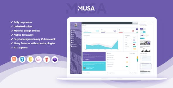 Fully Responsive, Multipurpose Bootstrap 4, Sass Admin Template