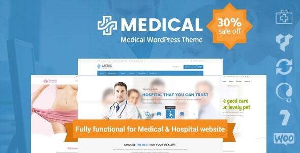 inMedical | Multi-purpose for healthcare WordPress Theme - Health & Beauty Retail
