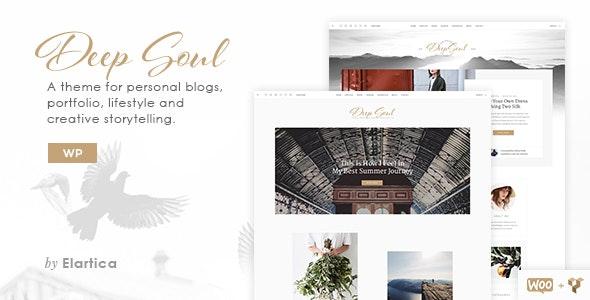 Deep Soul - Creative Multi-Purpose WordPress Theme - Personal Blog / Magazine
