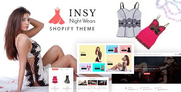Insy | Bikini Shop, Lingerie Shopify Theme