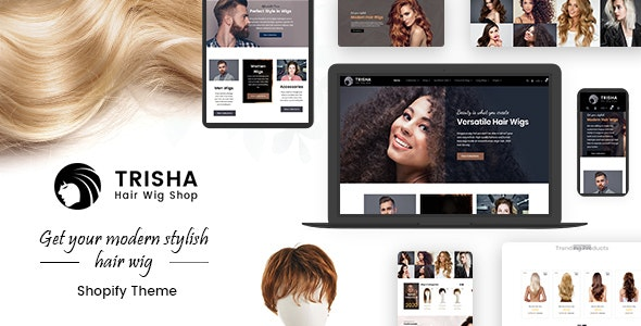 Trisha | Hair Weave, Hair Wig, Extensions Marketplace Shopify Theme - Health & Beauty Shopify