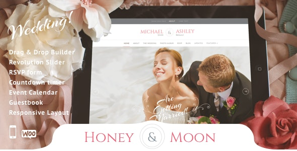 Honeymoon - Wedding - Wedding WordPress