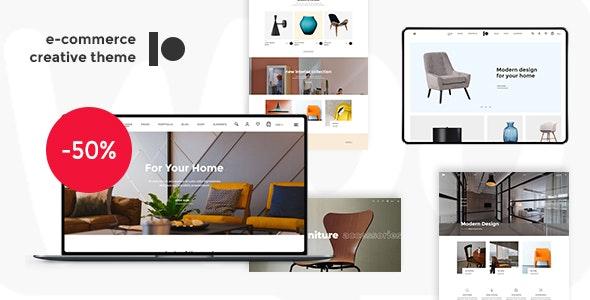 Daeron - A Creative and Modern WooCommerce Theme - WooCommerce eCommerce
