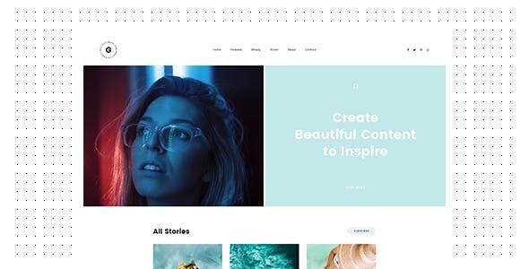 Rima - Personal Blog WordPress Theme