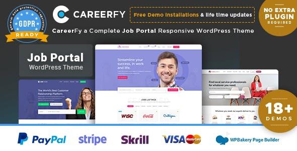 Careerfy v2.5.4 - Job Board WordPress Theme