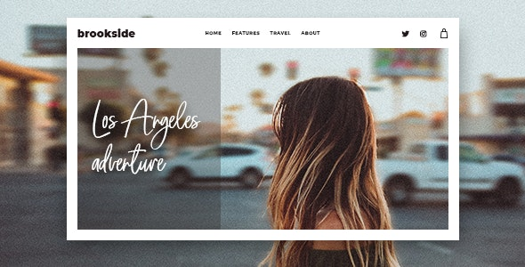Brookside - Personal WordPress Blog Theme - Personal Blog / Magazine
