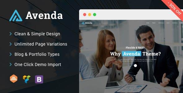 Avenda - Multi-Purpose Business WordPress Theme