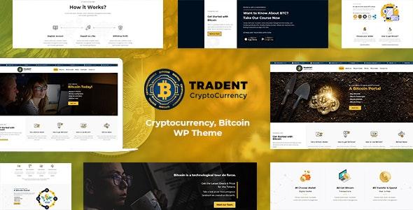 Tradent - Cryptocurrency, Bitcoin WordPress - Technology WordPress
