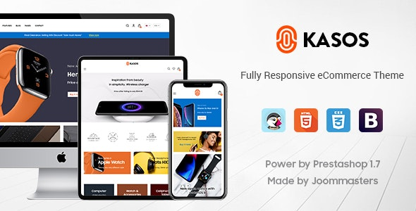 Kasos - Premium Prestashop Digital Theme - Technology PrestaShop