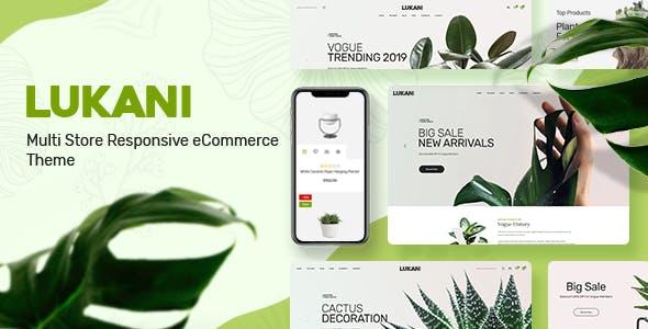 Lukani - Plant Store Theme for WooCommerce WordPress