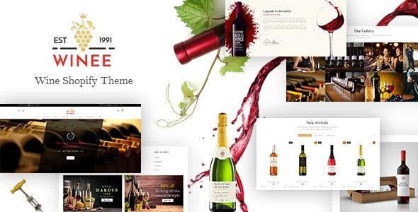 Winee - Wine Shop, Winery Farm Shopify Theme - Health & Beauty Shopify