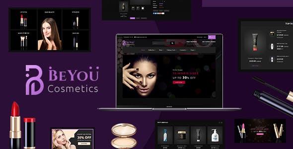 Be-You | Fashion Beauty, Cosmetics Shopify Theme