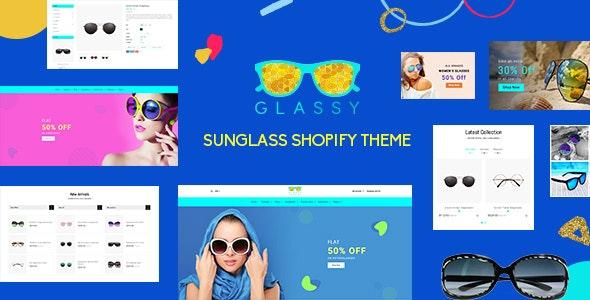 Glassy - Sunglass, Luxury Store Shopify Theme - Miscellaneous Shopify