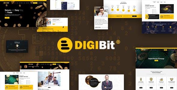 DigiBit - Bitcoin Trading Theme