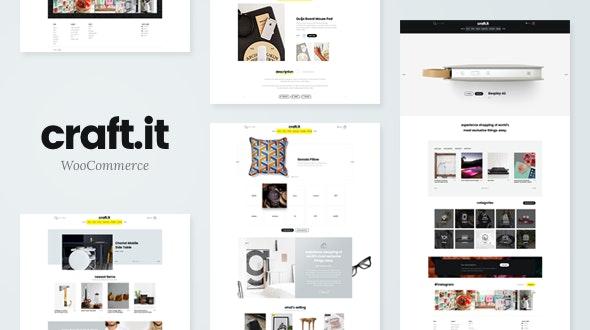 Craftit Artisan Shopping Theme - WooCommerce eCommerce