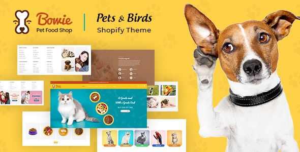Bowie | Pets, Birds and Dogs Shopify Theme - Miscellaneous Shopify