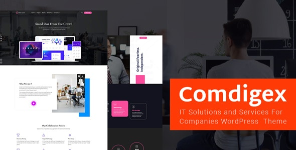 Comdigex - IT Solutions and Services Company WP Theme - Technology WordPress