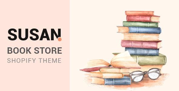 Susan - Book Store Shopify Theme - Shopping Shopify