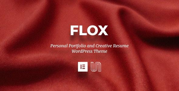 FLOX - Personal Portfolio & Resume WordPress Theme - Portfolio Creative