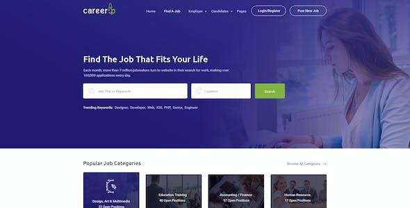CareerUp - Job Board HTML Template