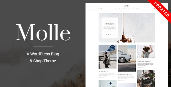 Molle - A Responsive Blog & Shop WordPress Theme - Blog / Magazine WordPress
