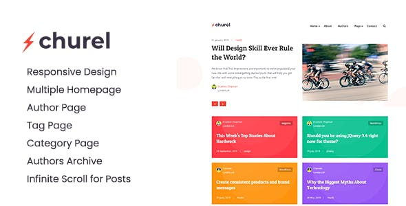 Download Churel - Modern and Powerful Jekyll Blog Theme