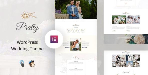 Pratty – Wedding WordPress Theme - Wedding WordPress