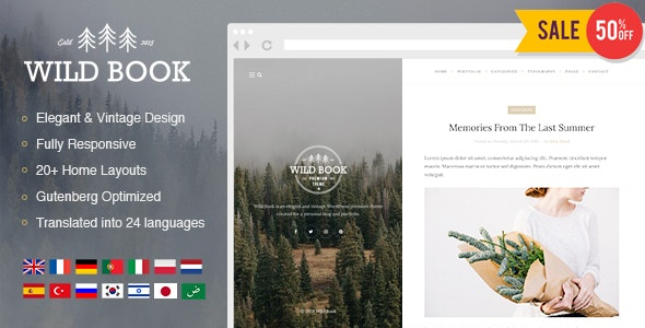 6 Best 2019's Newest Premium WordPress themes from ThemeForest for October 2019
