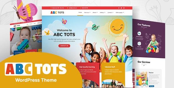 Abc Tots - Kindergarten WordPress Theme - Education WordPress