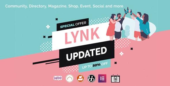 Lynk - Social Networking and Community WordPress Theme - BuddyPress WordPress