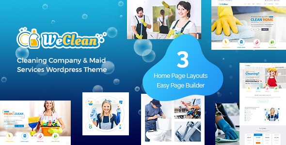 We Clean - Cleaning Services Theme - Miscellaneous WordPress