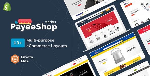 Payee Shop - Shopify Multi-Purpose Responsive Theme - Technology Shopify
