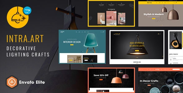 Intra Art - Opencart Multi-purpose Responsive Theme - Shopping OpenCart