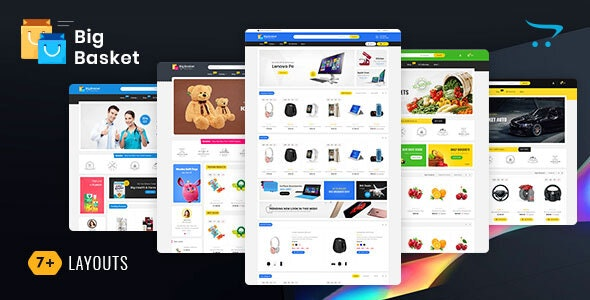 Big Basket - Opencart Multi-Purpose Responsive Theme - Shopping OpenCart