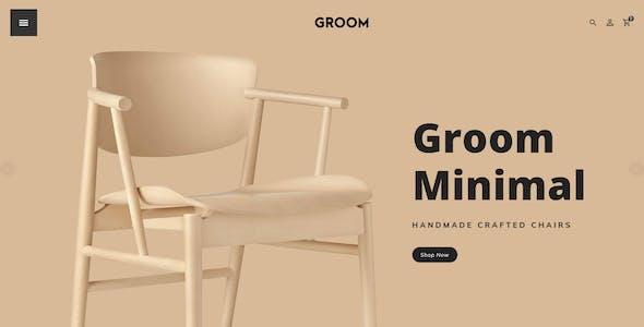 Groom - eCommerce Multi-Purpose PSD Template