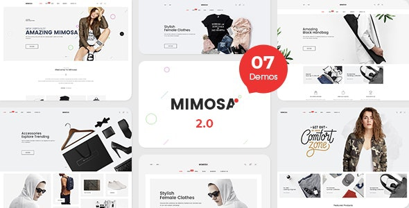 Mimosa - Fashion eCommerce Template - Fashion Retail