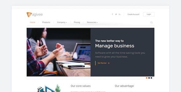 Agivee - Corporate Business HTML Template