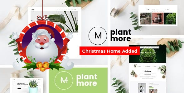 Plantmore Responsive Bootstrap 4 eCommerce Template