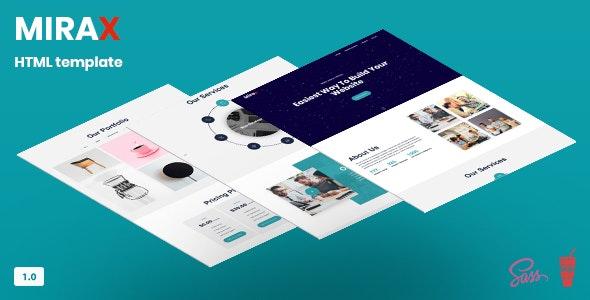 Mirax - Web Agency Template - Creative Site Templates