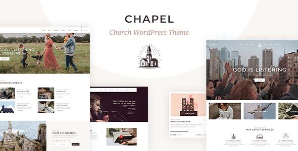 Chapel - Church Theme - Churches Nonprofit