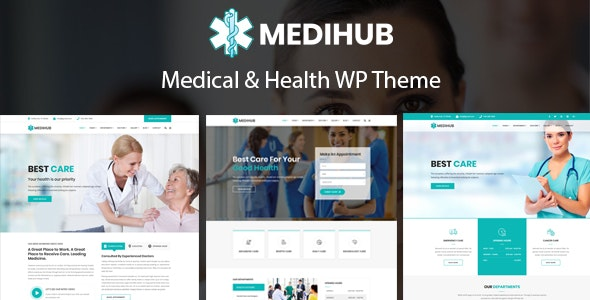MediHub - Medical & Health WordPress Theme - Health & Beauty Retail
