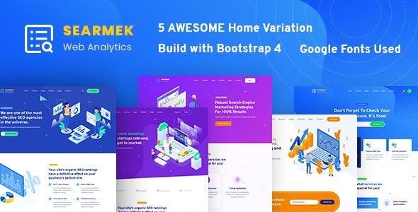 Searmek - SEO and Marketing Template - Marketing Corporate