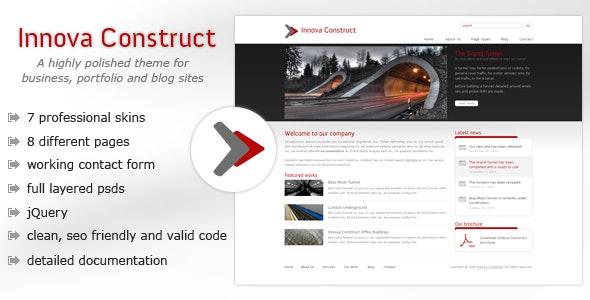 Innova Construct - Business, Portfolio, Blog - Business Corporate