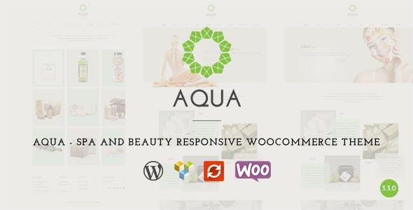 Aqua - Spa and Beauty Responsive WooCommerce WordPress Theme