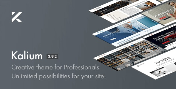 Kalium - Creative Theme for Professionals - Portfolio Creative