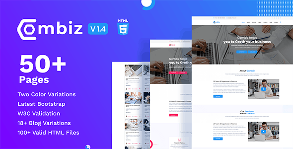 Combiz - Business & Consulting HTML Template