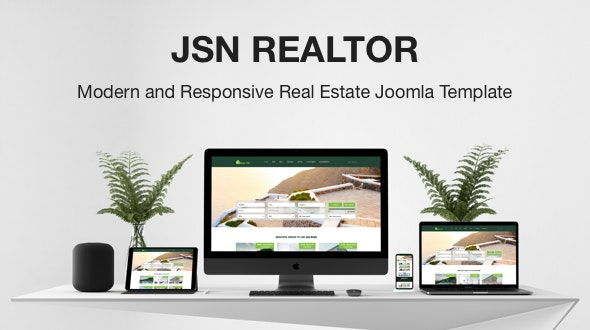 JSN Realtor - Modern and Responsive Real Estate Joomla Template - Business Corporate