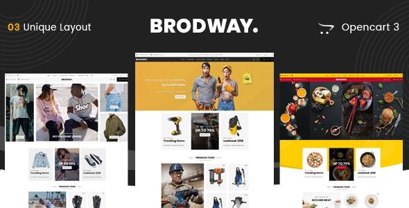 Brodway - Multipurpose OpenCart 3 Theme - Fashion OpenCart