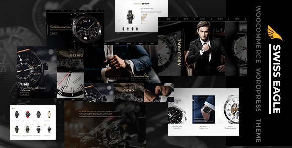 SwissEagle - Watch Store WordPress Theme - Miscellaneous eCommerce