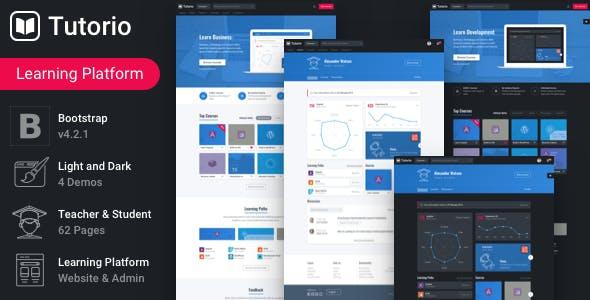 Tutorio - Education Platform and Learning Management System